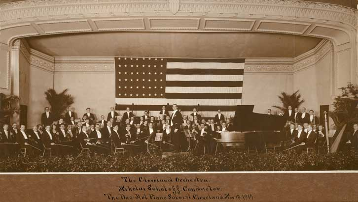 Cleveland Orchestra 1919