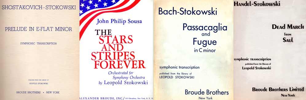 Leopold Stokowski Transcriptions