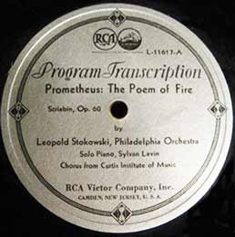 Transcription disc